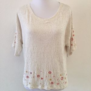 Anthropologie Post Stamp T Shirt Size X Small